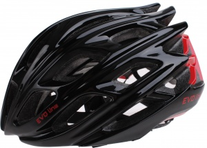 Cycle Tech helm unisex zwart/rood