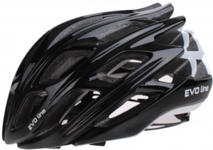 Cycle Tech helm unisex zwart/wit