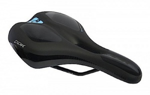 Cycle Tech zadel Comfort Plus Ergo Sport heren 170 mm zwart
