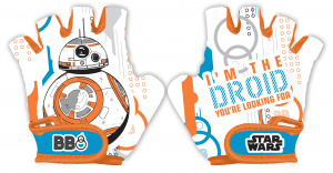 Disney fietshandschoenen Star Wars BB8 junior oranje