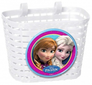 Disney fietsmand Frozen wit 4 liter