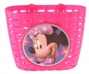 Disney fietsmand Minnie Mouse 4 liter roze