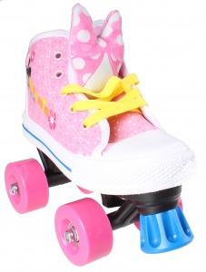 677dfbd4751 Disney rolschaatsen Minnie Mouse meisjes roze/wit