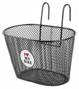 M-Wave fietsmand 5 liter love bike zwart
