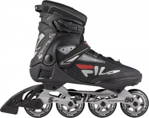 a81be8b2257 Fila inlineskates Legacy Pro 80 men black/red