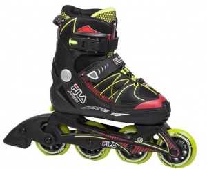 0c47dbd467e Fila Inline Skates X One Boy adjustable black / green