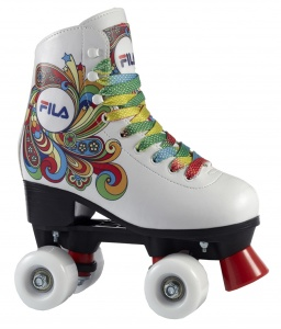 1793cfc6de7 Fila Roller skates Quad Bella girls white