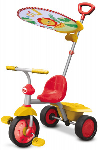 Fisher-Price driewieler Glee Plus Junior Grijs/Geel
