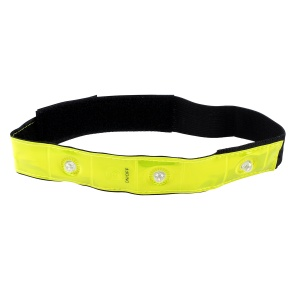 Fit Essentials reflecterende armband geel 44 cm