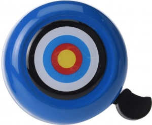 Free and Easy fietsbel blauw 53 mm dartbord