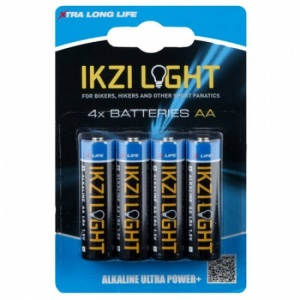 Ikzi Light Batterijen LR06 AA 4 Stuks