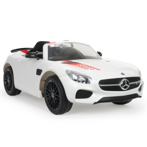 Injusa accuvoertuig Mercedes AMG GT iMove 12V 132 cm wit