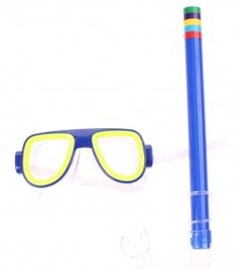 95cc7de3ba0769 Jonotoys snorkel set Swim Goggles junior blue 2-piece