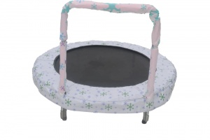 Jumpking trampoline Mini Bouncer Snow 121 cm wit