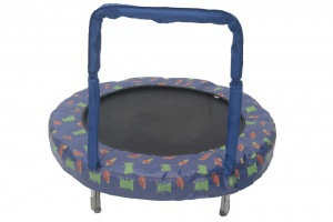 Jumpking trampoline Mini Bouncer Space 121 cm blauw