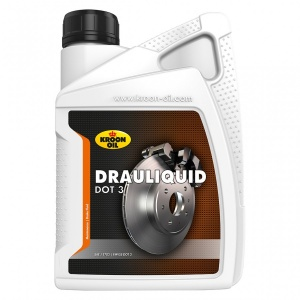 Kroon Oil remvloeistof Drauliquid DOT3 1 liter (04205)