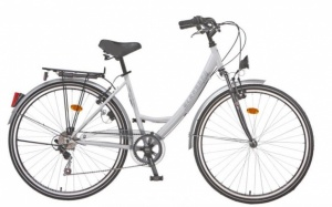 Leader Eleganca HF 28 Inch Dames 6V V-Brake Wit