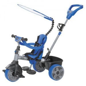 Little Tikes 4-in-1 Driewieler Jongens Blauw