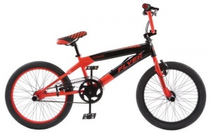 Magic BMX Fiets Flyer 20 Inch Unisex V-Brake Rood/Zwart
