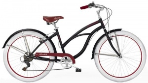 MBM Honolulu 26 Inch Dames 6V V-Brake Zwart