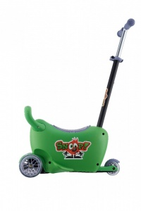 Milly Mally Snoop! 3-in-1 loopwagen en step groen
