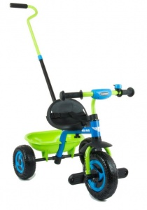 Milly Mally Turbo driewieler Junior Groen/Blauw