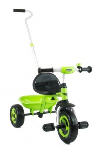 Milly Mally Turbo driewieler Junior Groen/Zwart