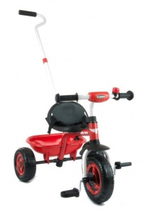 Milly Mally Turbo driewieler Junior Rood/Zwart