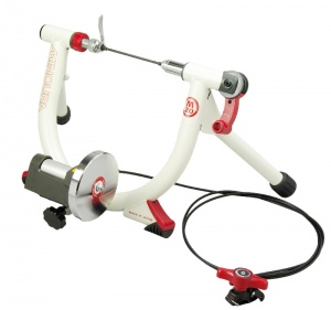 Minoura LiveRide trainer LR240-mini Wit