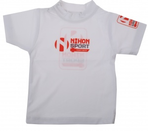Nihon T-shirt baby junior wit