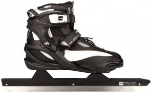b9867aaa38a Nijdam Norwegian Skating Boot Semi-Soft Pro Line Black