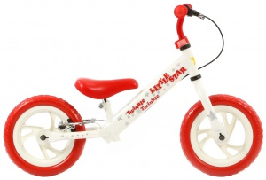 Popal Twinkle Star 12 Inch Junior V-Brake Wit/Rood