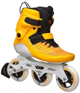 12946e748bc Powerslide inline skates Swell unisex yellow