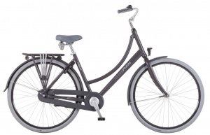 Puch Hands-Up! 28 Inch Dames Terugtraprem Matzwart