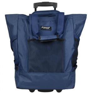 Punta trolley shopper Big Wheel blauw 36 liter