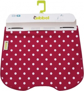 Qibbel stylingset voor Qibbel windscherm Polka Dot rood Q739