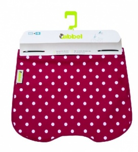 Qibbel Stylingset Windscherm Polka DOT Rood