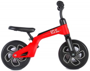 QPlay Balance Bike 10 Inch Junior Rood