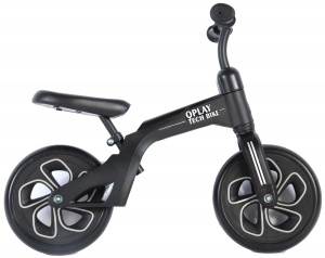 QPlay Balance Bike 10 Inch Junior Zwart
