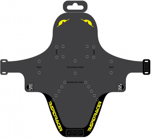 RapidRacerProducts spatbord EnduroGuard MTB 80-120 mm geel