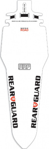 RapidRacerProducts spatbord RearGuard Road 23 cm wit