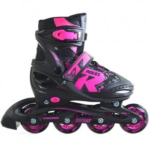 c1921d253e3 Roces inline skates Jokey 2.0 girls black / pink