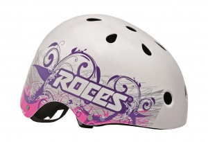 5253065cd6a Roces Tattoo Aggressive helmet white / blue / pink