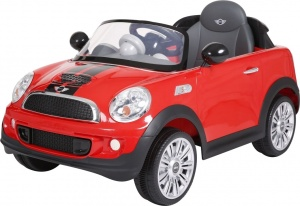 Rollplay Mini Cooper S Coupe accuvoertuig 12 Volt rood