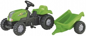 Rolly Toys traptractor RollyKid-X junior groen