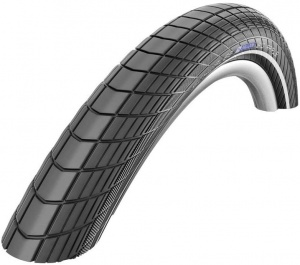 Schwalbe buitenband Big Apple 18 x 2.00 (50-355) RS zwart