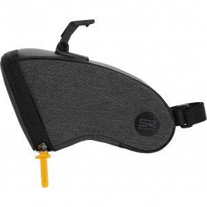 Selle Royal zadeltas met clip Medium polyester 1,2 liter zwart