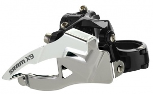 Sram Derailleur Voor FD-X9 Low Clamp Top Pull