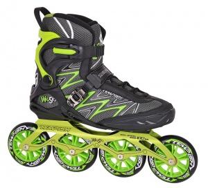 fb26102d57e Second Chance Tempish inline skates WE-Go 100 men black/green size 39-S