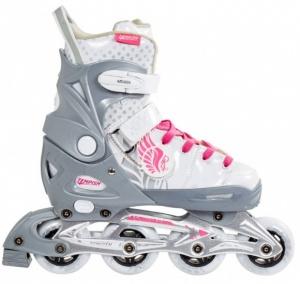 976bfb56a0c Tempish Lux Rebel Inline Skates girls gray / white